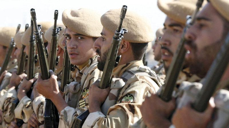 قوات إيرانية في سورية.  أرشيفية