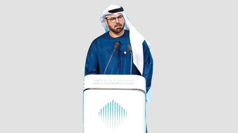 محمد عبدالله القرقاوي: «الحكومات ستشهد تراجعاً في قيادة التغيير في المجتمعات الإنسانية».