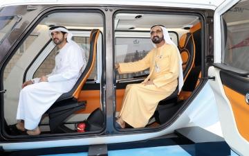 الصورة: محمد بن راشد: الإمارات وجهة عالميــة لتطوير نماذج تنموية مستقبلية