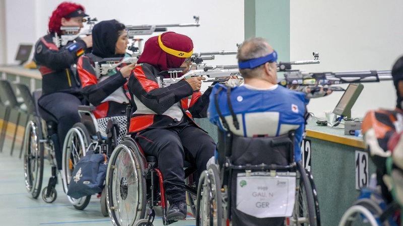 السويدي تسجّل ظهوراً تاريخياً لرياضة المرأة في الألعاب العالمية لذوي الإعاقة الحركية والبتر. من المصدر