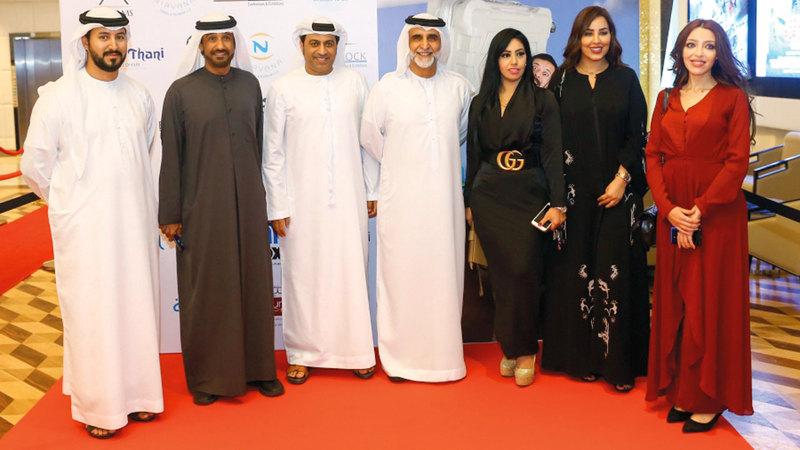 العرض الخاص للفيلم نظم في فوكس سينما بالنيشن تاور بأبوظبي. الإمارات اليوم
