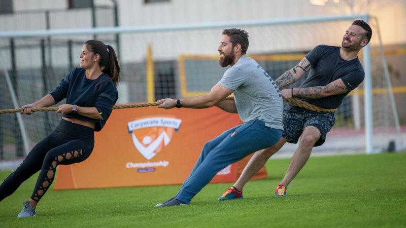 البطولة تقام بالمدرسة السويسرية الدولية في دبي. من المصدر