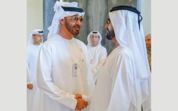 الصورة: محمد بن راشد ومحمد بن زايد:  الإنسان محور العمل الحكومي ونجاح الحكومات مرتبط باستعدادها للمستقبل