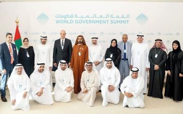 الصورة: محمد بن راشد: القطاع الخاص لاعب رئيس في تعزيز التنمية وبناء مجتمعات أكثر ازدهاراً