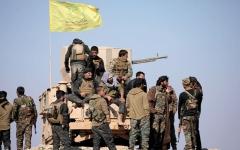 الصورة: «قسد» تسيطر على «الباغـوز» خط دفاع «داعش» بآخر جيوبه في سوريــة