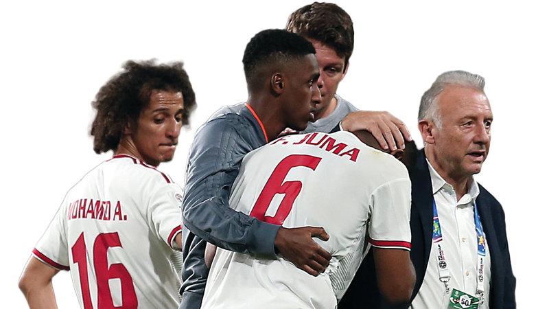 المنتخب أخفق في الفوز بكأس آسيا 2019. إي.بي.إيه