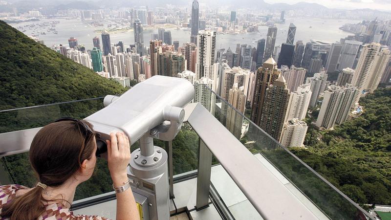 تتعرَّض هونغ كونغ لضغوط متزايدة من بكين لممارسة الرقابة الذاتية. أرشيفية