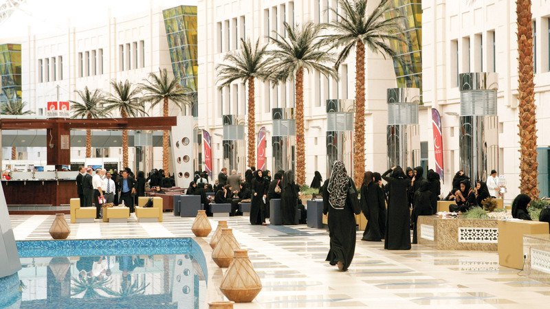 المعايير الجديدة تتيح الفرصة أمام الجامعات لطرح مساقات وبرامج عن طريق النظام الإلكتروني. الإمارات اليوم