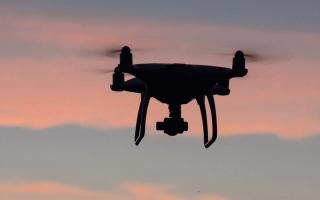 الصورة: حصر أعداد المزارع على مستوى الدولة بطائرات بدون طيار