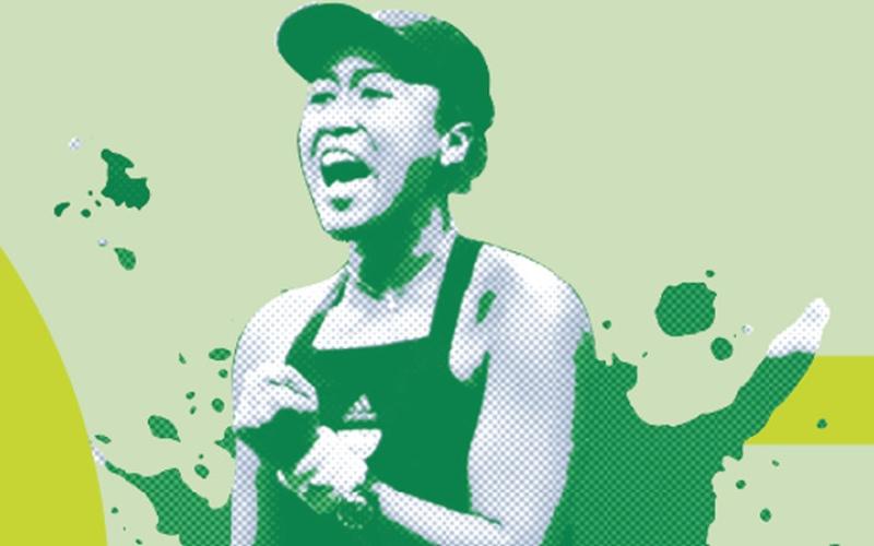 الصورة: اليابانية أوساكا تدافع عن الرقم «1» عالمياً في تنس دبي