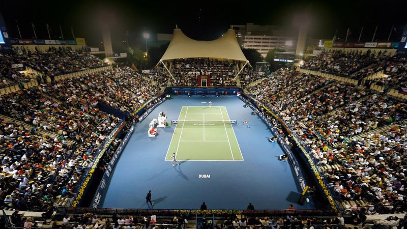 بطولة دبي الدولية للتنس تنطلق اليوم من خلال الدور الأول للسيدات.  من المصدر