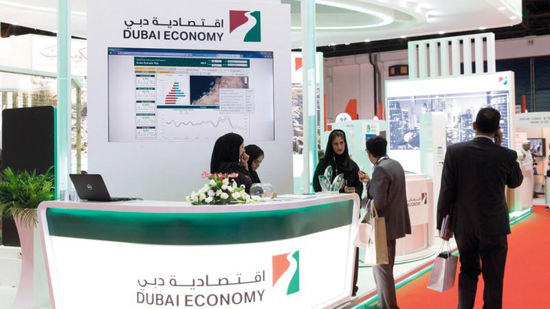 اقتصادية دبي أكدت أن استراتيجيتها تهدف إلى تسهيل مزاولة الأعمال. أرشيفية
