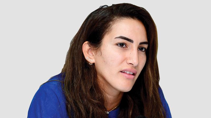 فاطمة النبهاني: «من المحزن عدم الظهور بالصورة المأمولة في بطولة تنس دبي».