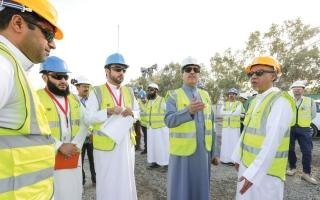 الصورة: 35 % إنجاز المرحلة الثالثة من «المحطة K»لتوليد الكهرباء في جبل علي