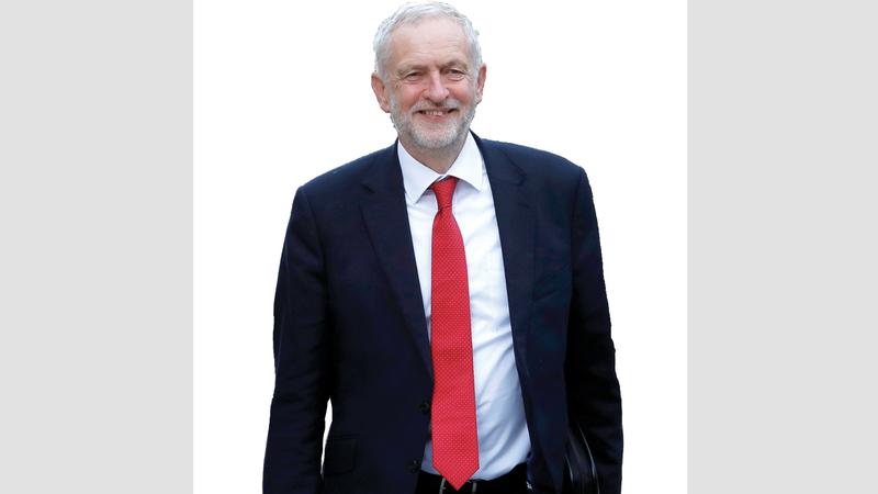 يواجه كوربين اتهامات بخيانة تعهداته دعم إجراء استفتاء ثان على خروج بريطانيا من الاتحاد الأوروبي.  رويترز