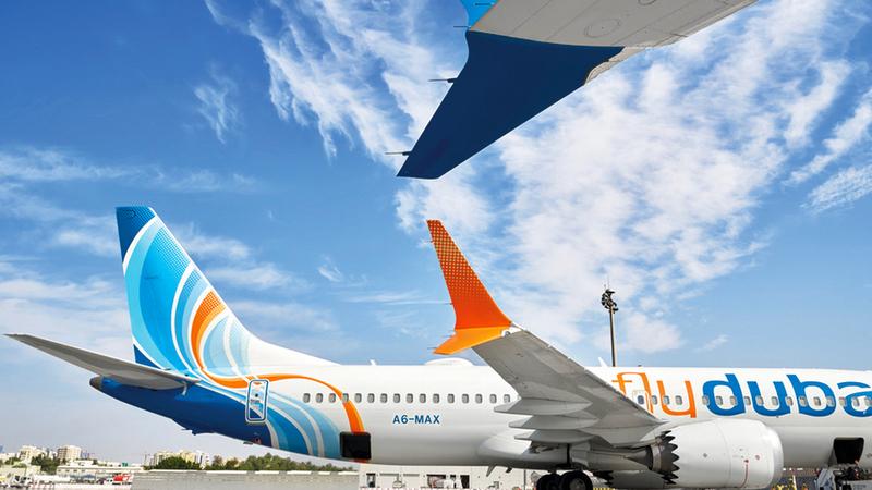 «الشركة» تسلمت 7 طائرات من طرازَيْ «بوينغ 737 ماكس 8» و«بوينغ 737 ماكس 9» من المصدر