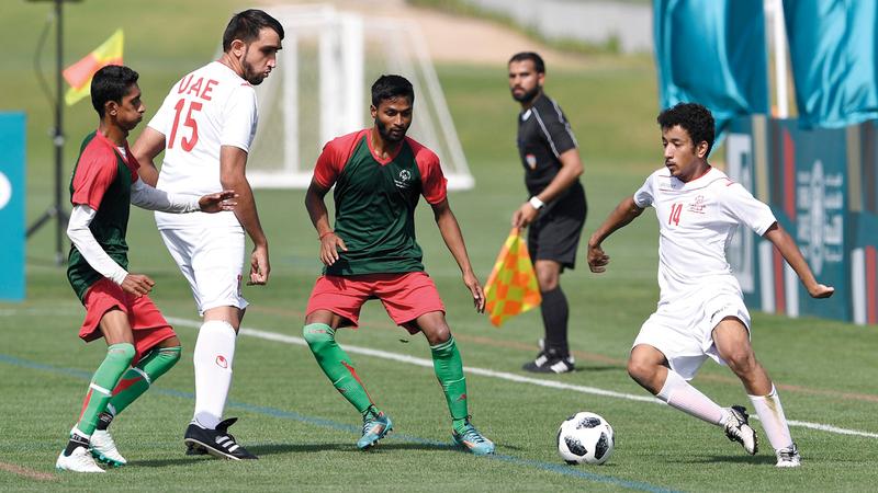 منافسات كرة القدم تنطلق 12 مارس المقبل. من المصدر