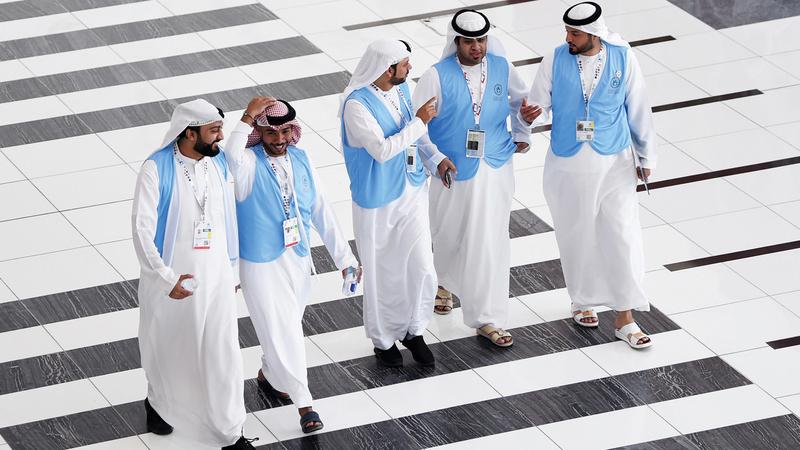 يشكل المواطنون 40% من المتطوعين المسجلين في الأولمبياد الخاص العالمي. من المصدر