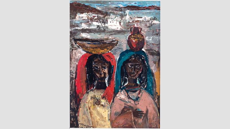 يحتفي مزاد «كريستيز» الشهر المقبل بحركة الفن الفلسطيني الحديث بثلاثة أعمال.  من المصدر