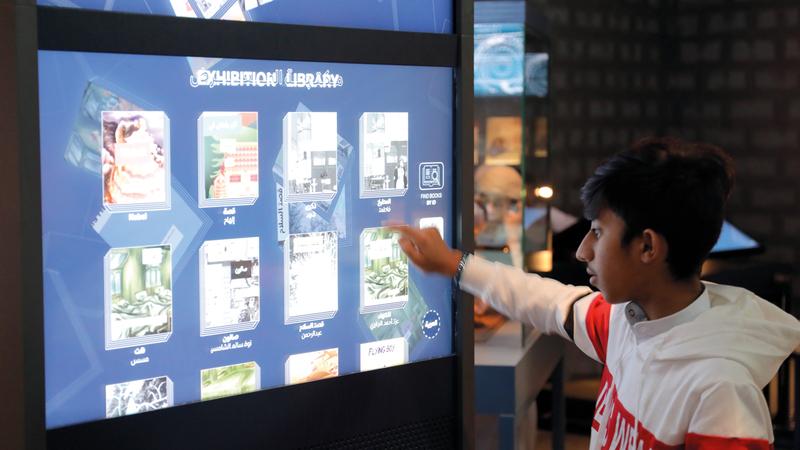 المتحف يقدم أفكاراً تحفز المخيلة وشغف الإبداع. من المصدر