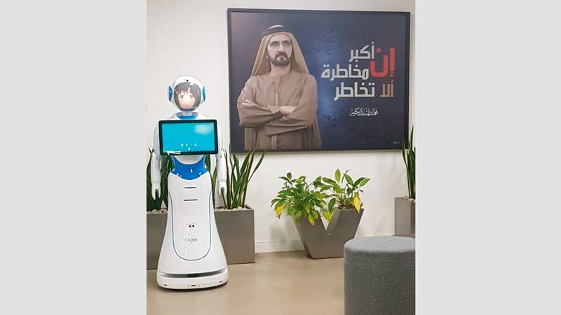 «أرضية الإبداع» تركز على تصميم وتطوير برمجيات الروبوت وربطها مع الأنظمة المؤسسية.  من المصدر