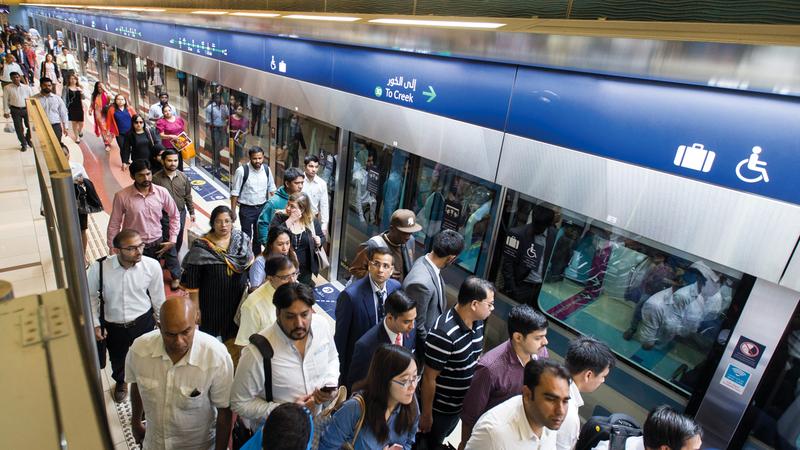 مبادرة بلدية دبي انطلقت عام 2010 تحت اسم «يوم بلا مركبات». تصوير: أحمد عرديتي
