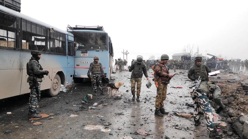 الهجوم الأخير في كشمير أثار تساؤلات حول الدعم الصيني لباكستان.  رويترز