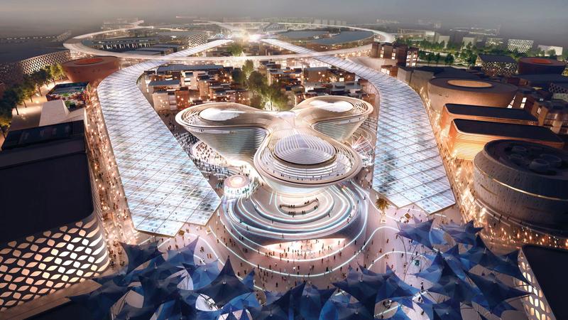 مسؤولون أكدوا أن «إكسبو 2020 دبي» يمثل فرصة لتنمية أعمال الشركات الغذائية. أرشيفية