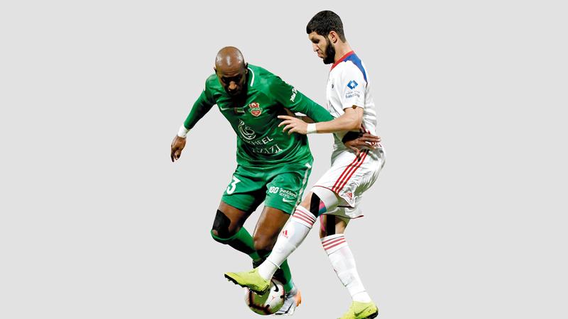 الشارقة فاز هذا الموسم في 12 مباراة وتعادل في 4. تصوير: أسامة أبوغانم