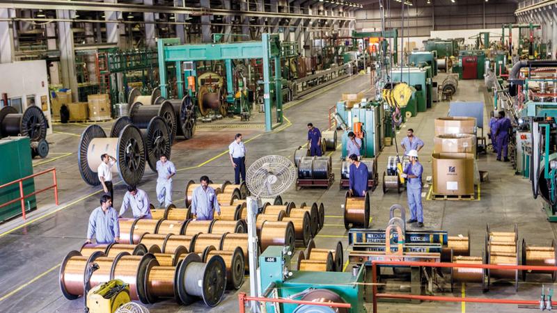 القطاع الصناعي يشهد ندرة في المواطنين العاملين بالتخصصات الفنية. أرشيفية