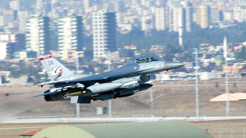 منطقة حظر الطيران شمال العراق لمنع صدام حسين من مهاجمة الأكراد كانت تجربة ناجحة. غيتي