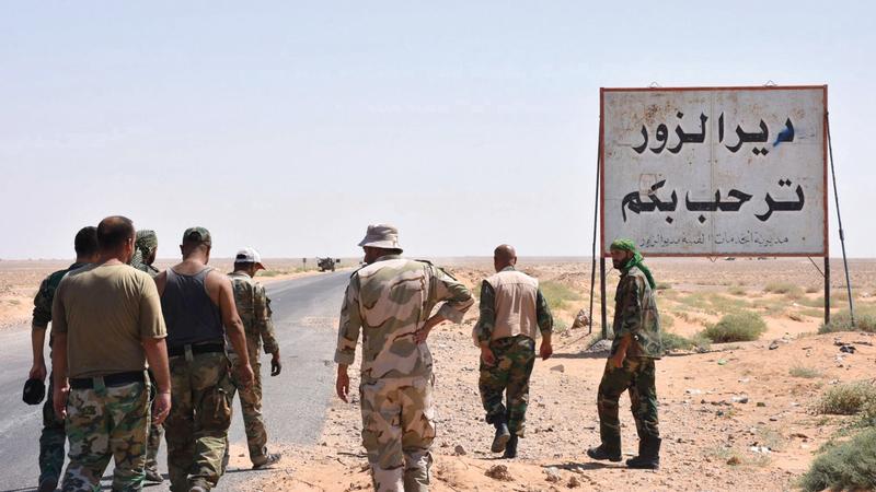 القوات الكردية كانت بالخطوط الأمامية في مواجهة «داعش». أرشيفية