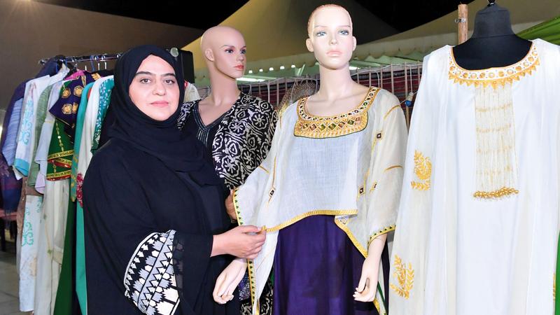 البستكي: المزج بين الثقافتين في تصميمات الملابس كان عملاً يستحق.