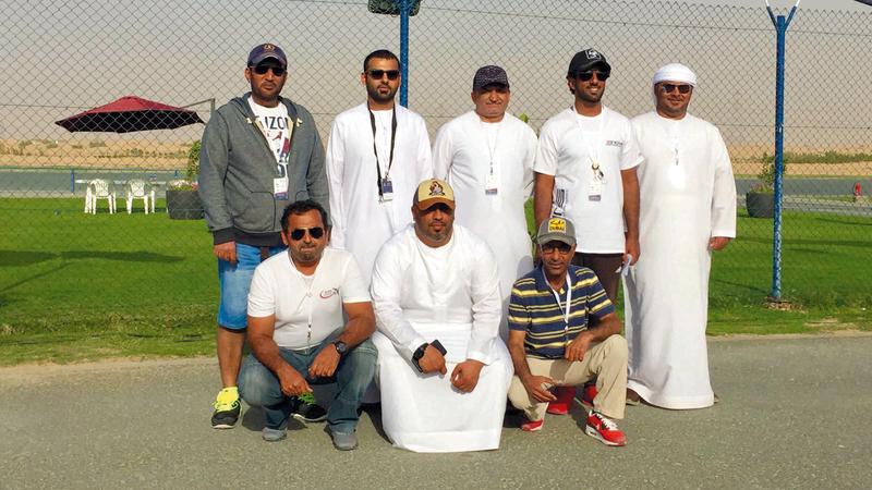 طيارو الإمارات حققوا نتائج متميزة في اليوم الأول. من المصدر