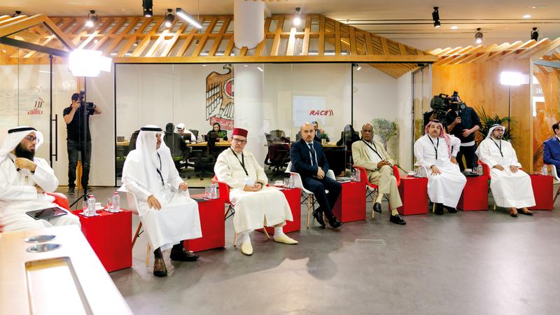 البرنامج أُطلق في مقر المسرعات الحكومية بأبراج الإمارات. من المصدر
