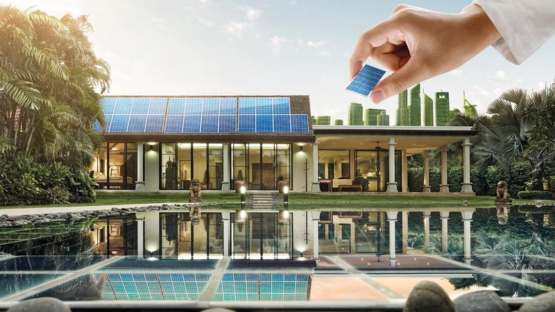 المشروع يتضمن تركيب مصابيح موفرة للطاقة وموفرات للمياه لترشيد استهلاك الكهرباء والمياه.  من المصدر