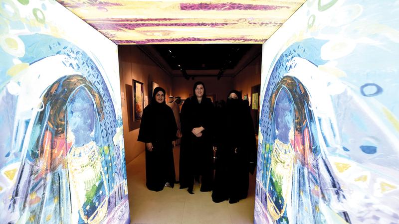 المعرض يستضيفه متحف الشارقة للتراث حتى أغسطس المقبل. الإمارات اليوم