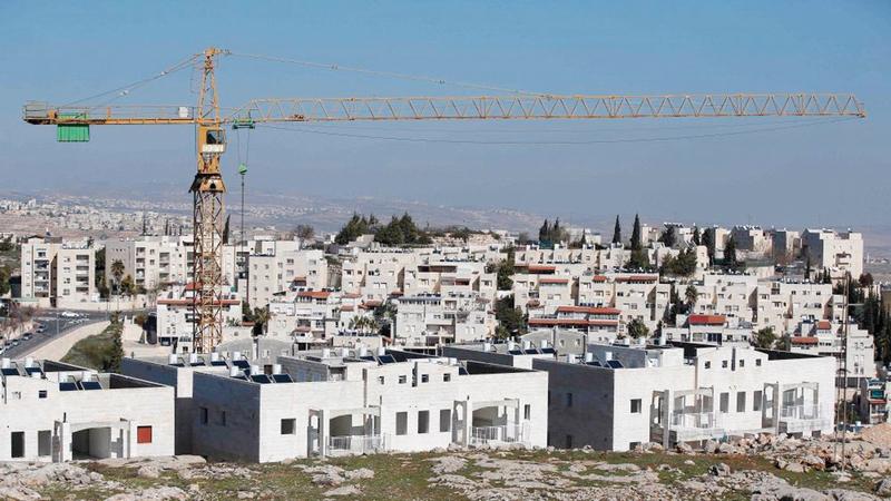 المخطط الجديد سيربط مستوطنات القدس في الجنوب والشمال بالاتجاهات الأخرى.  الإمارات اليوم