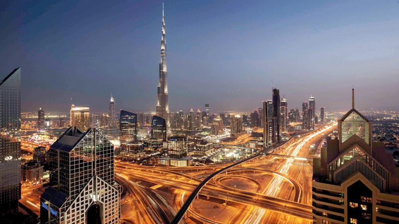 دبي تسخّر جميع الإمكانات لتسهيل مزاولة الأنشطة الاقتصادية دون تعقيد أو عراقيل. أرشيفية
