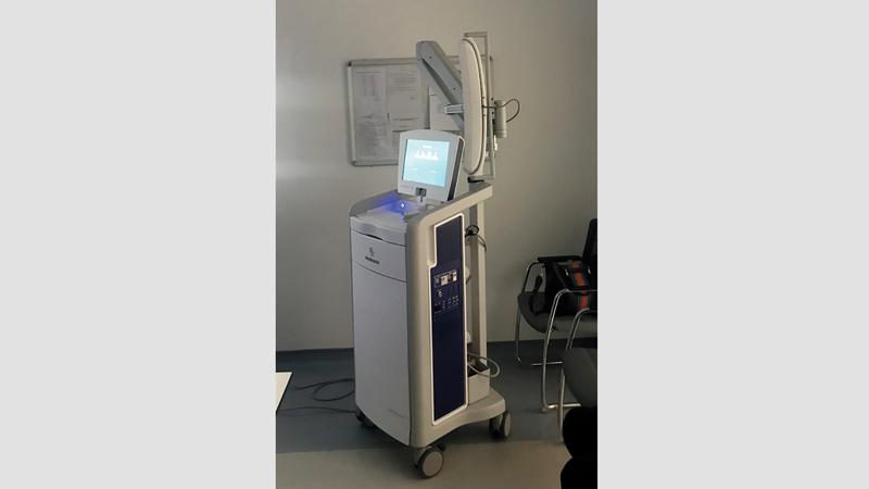 «الملاحة الجراحي» يستخدم في علاج الأورام والنزيف الدماغي واستسقاء الدماغ. من المصدر