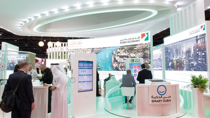 اقتصادية دبي أطلقت استراتيجية متكاملة لتعهيد الخدمات التي تقدمها لمجتمع المال والأعمال. أرشيفية