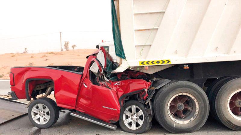 إدارات المرور سجلت 3712 حادثاً مرورياً خلال العام الماضي. أرشيفية