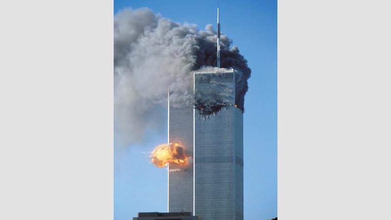 أحداث 11 سبتمبر دفعت الولايات المتحدة إلى شن حرب على العراق وأفغانستان. أرشيفية