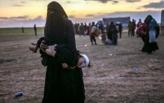 الصورة: الأمم المتحدة: الأوضاع الصحية تودي بحياة عشرات الفارين من بلدة الباغوز