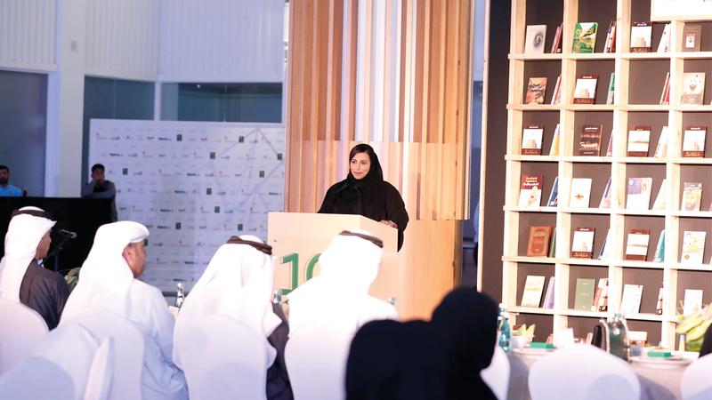 بدور القاسمي أكدت أن الناشر الإماراتي أصبح له صوت قوي يمثله في جميع الفعاليات في المنطقة والعالم. من المصدر