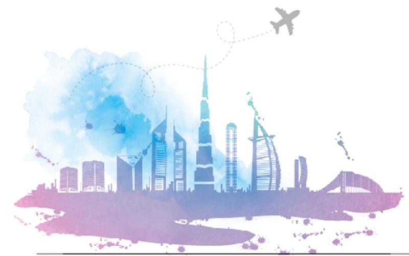 الصورة: ( بالغرافيك ) ...30 مليون ليلة فندقية للسياح الدوليين في دبي خلال 2018