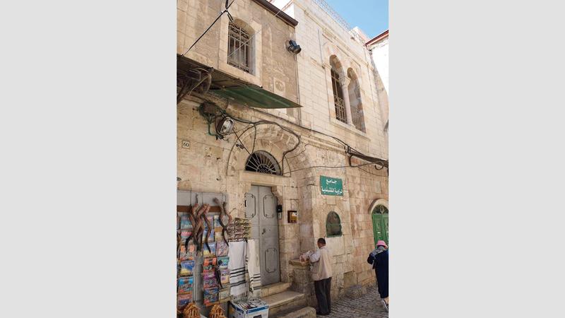 المعالم الإسلامية في الحي الإسلامي بالبلدة القديمة في القدس