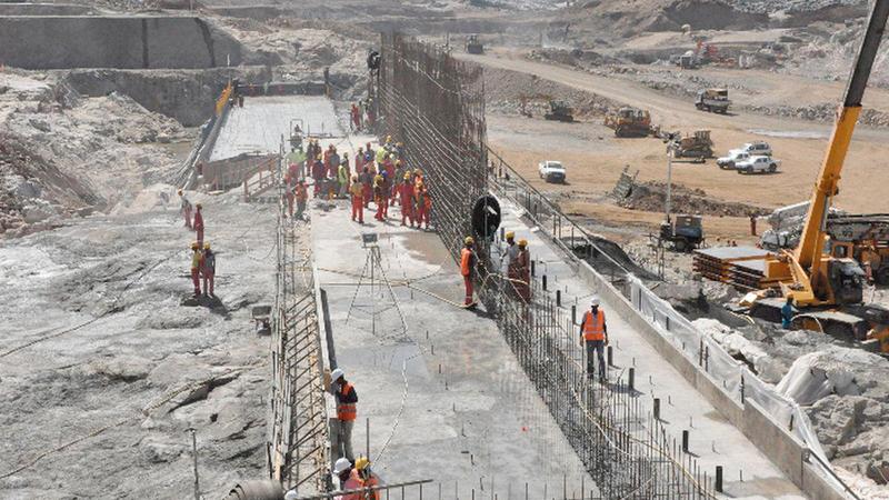 سد النهضة سيشكل خطراً ماثلاً على مصر والسودان.  أرشيفية
