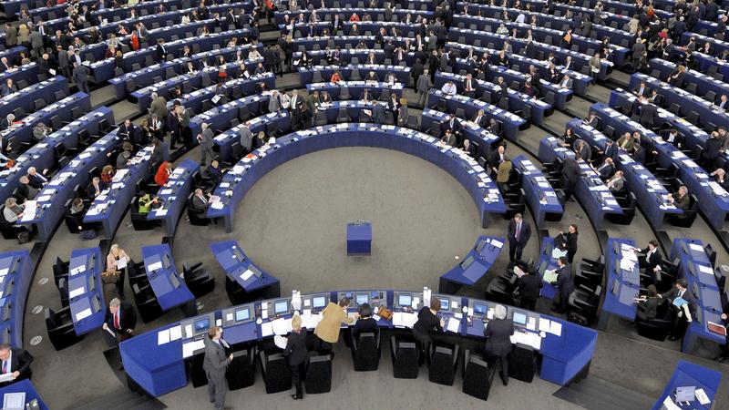 الاتحاد الأوروبي يحاول الظهور بمظهر جبهة موحدة أمام العالم بشأن القضية السورية.  غيتي