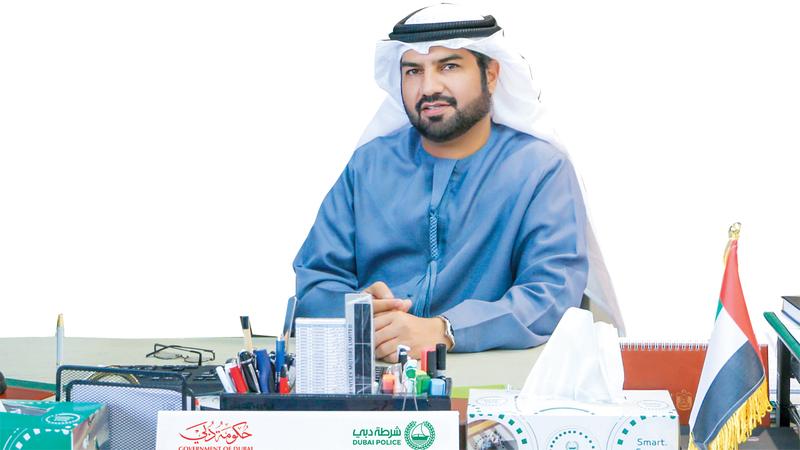 العميد جمال الجلاف : مدير الإدارة العامة للتحريات والمباحث الجنائية في شرطة دبي